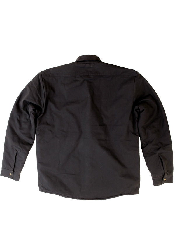 needessentials organic cotton wool insulated jacket black non branded