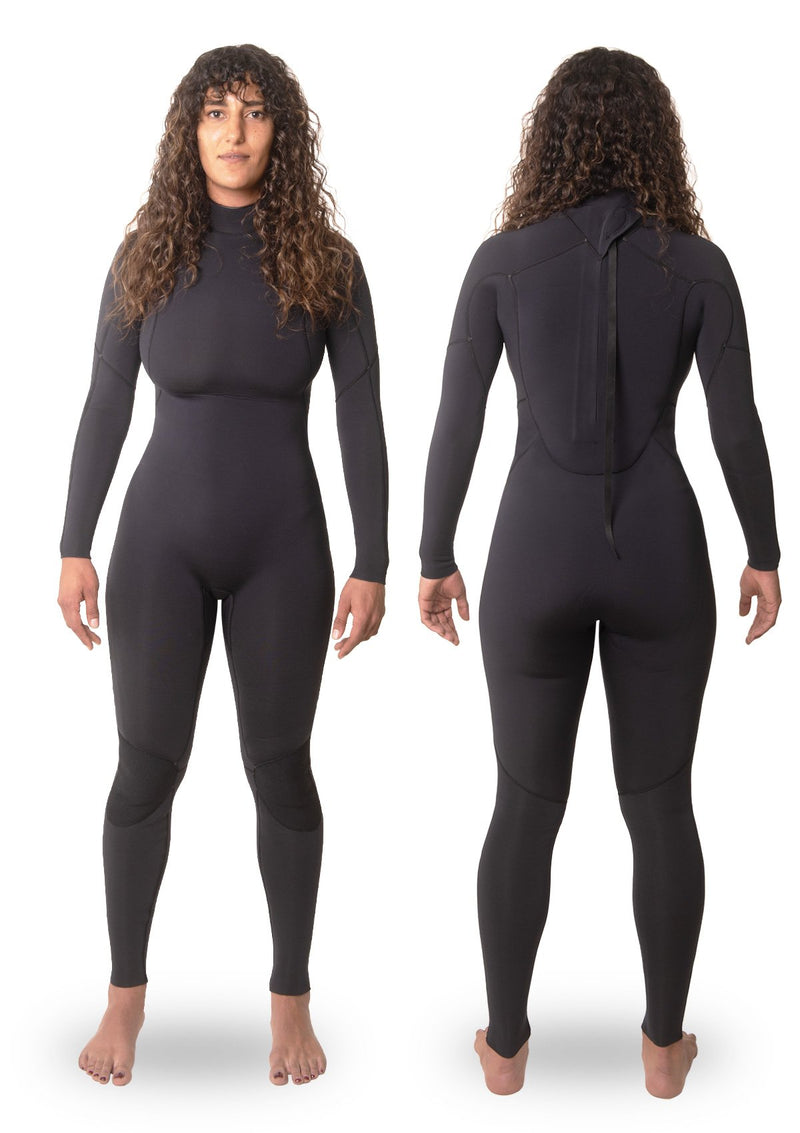 Womens 4/3 Thermal Back Zip Wetsuit