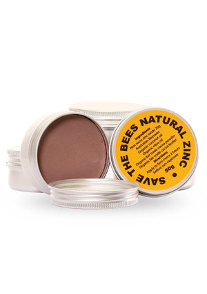 needessentials save the bees natural zinc bronze