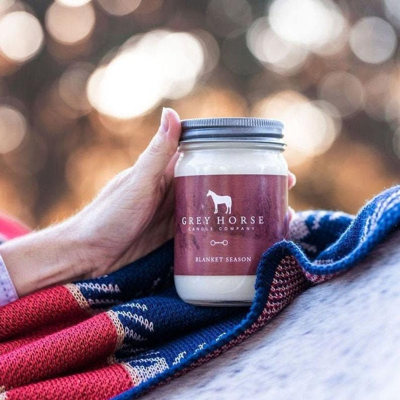 Candles for Equestrians - All-Natural Soy