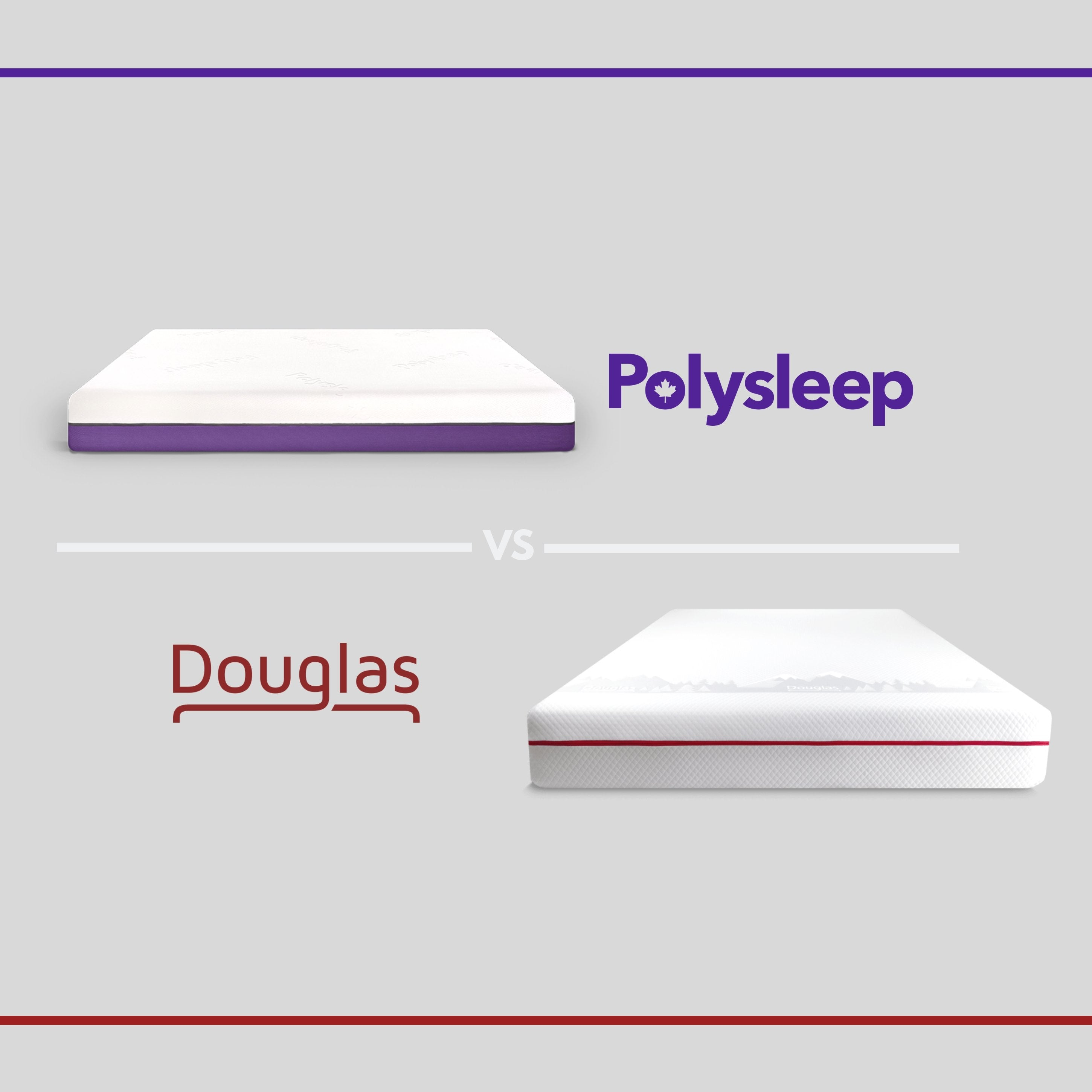 The Douglas Mattress vs the Polysleep Mattress