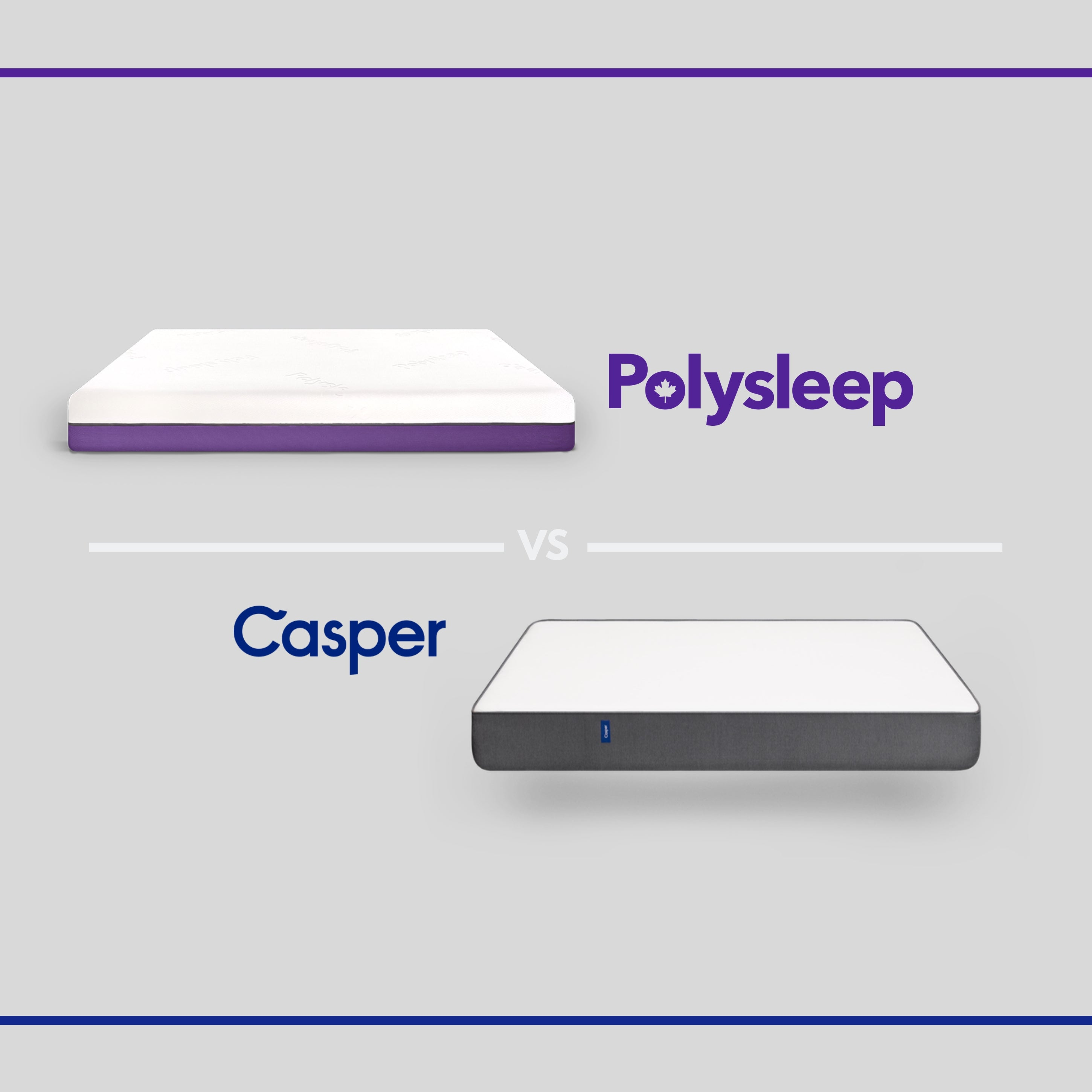 Polysleep vs. Casper: Let's compare 2 of the best mattress brands!
