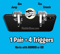 Call of Duty Mobile Trigger Controller - Call of Duty Mobile Triggers L1 R1 Controller (Android/iOS)