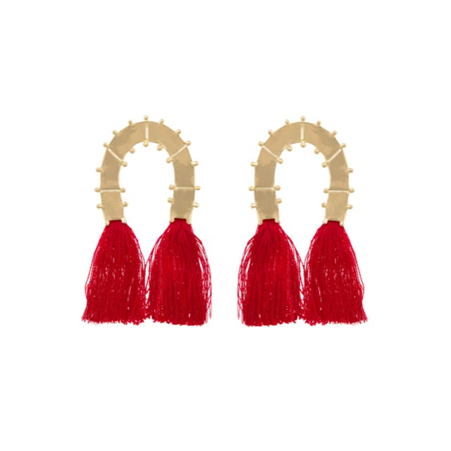 Vinales Earrings with Tassel