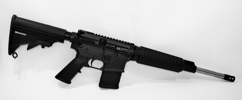 NWCP-15 Mil Spec straight pull carbine
