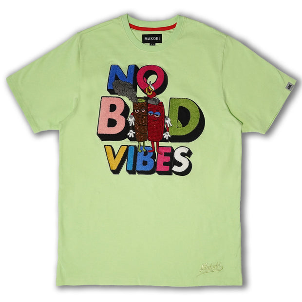 M230 No Bad Vibes Tee - Lime