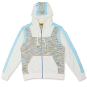 M5530 Broadway Multi Knit Hoody Set - Natural