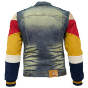 M1010 Makobi Ultra Suede Denim Jacket - Vintage