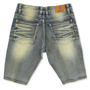 M709 Malaquite Biker Shredded Jeans - Dirt