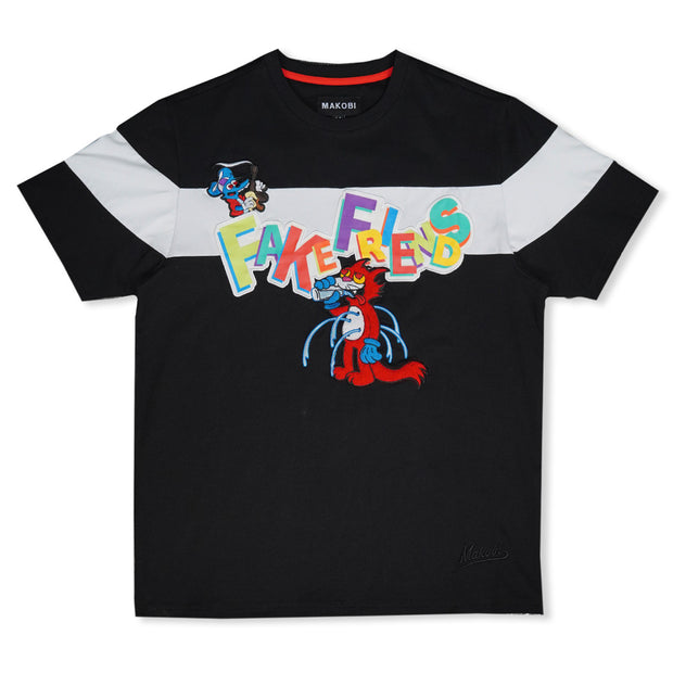 M323 Fake Friends Tee - Black