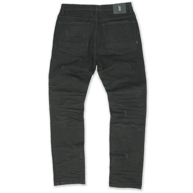 M1920 Zuma Shredded Jeans - Black