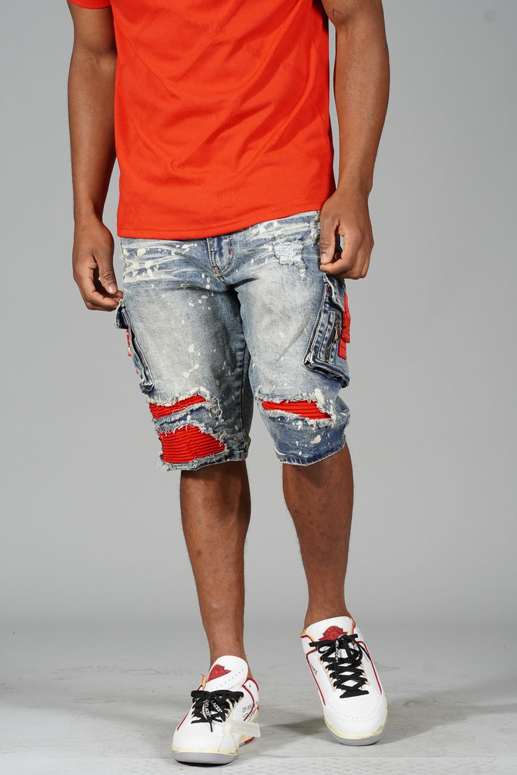 M233 MAKOBI HUNTING SEASON TEE RED - Shirts