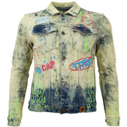 M1052 Makobi Fire Denim Jacket - Dirt