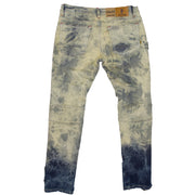 M1952 Makobi Fire Shredded Jeans - Dirt