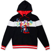 M5223 Fake Friends Hoodie - Black