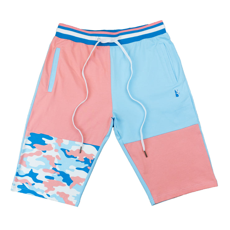 M580 ART CAMO SHORTS BLUE - S - Sets