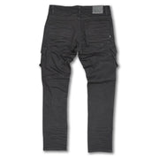 M1936 Cambria Shredded Jean w/ Side Pockets - Black