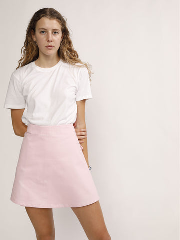 Sasha Pink Wrap Skirt