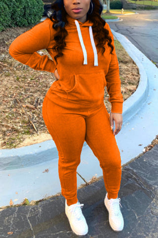 Casual Hooded Sweatsuit