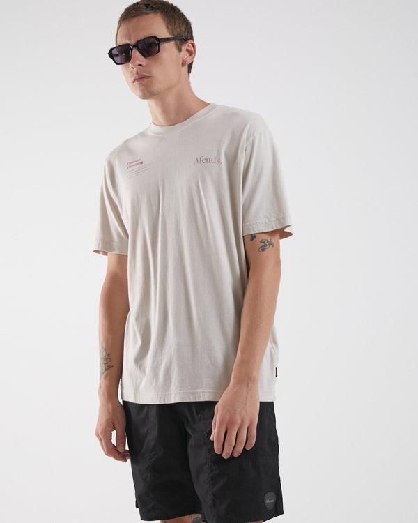 Afends Mens Positive Change Retro SS Tee