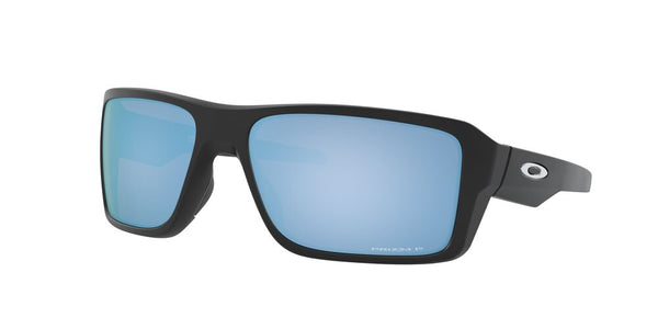 Oakley Double Edge Matte Black W/Prizm Deep Water Polar
