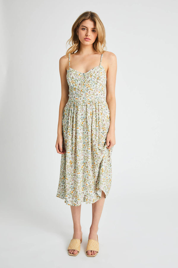 Rollas Ladies Eve Meadow Floral Dress