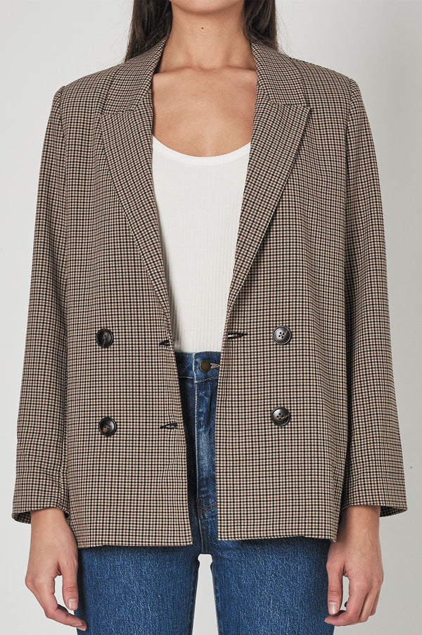 Rolla's Ladies Gabby Slouch Blazer - Front