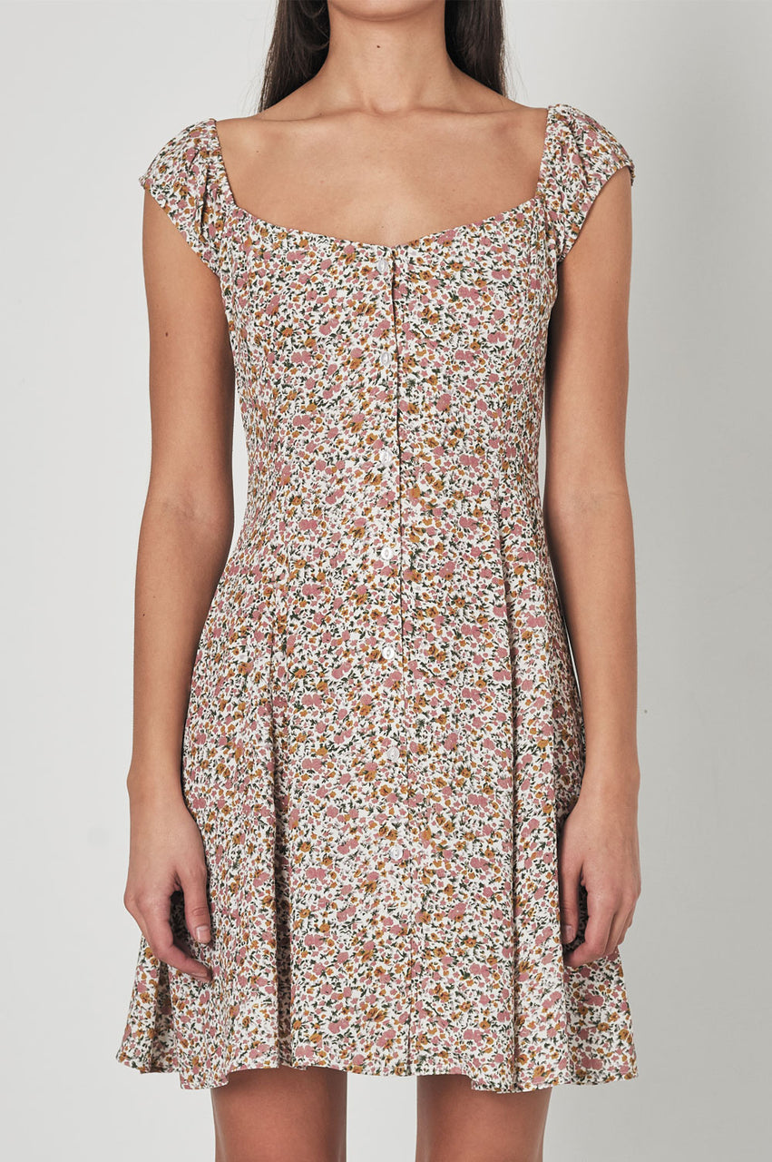 Rollas Ladies Erin Coast Floral Dress - Front
