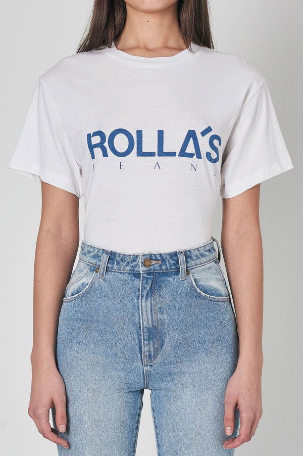 Rollas Tomboy Logo SS Tee - Front