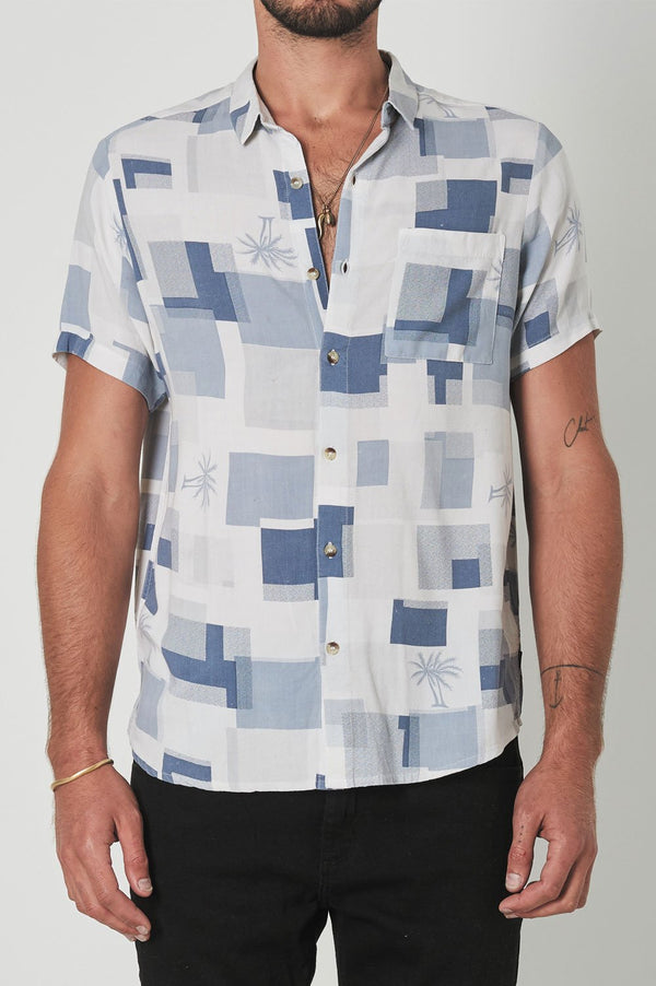 Rollas Mens Bon SS Shirt - Front