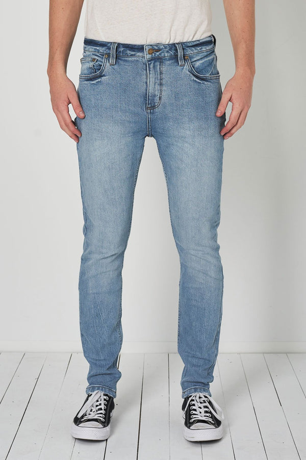 Rollas Mens Tim Slim Jean - Front