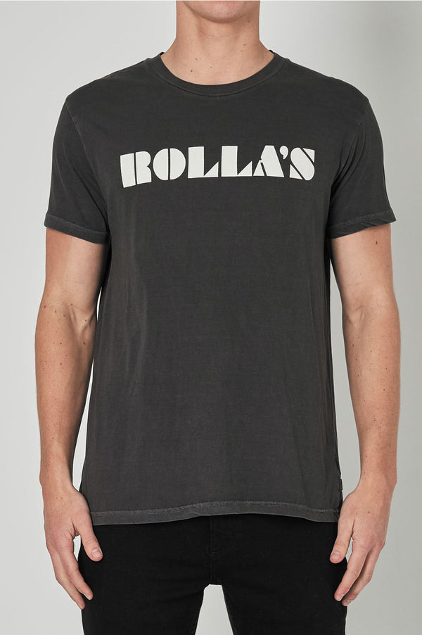 Rollas Mens Retro Logo - Front