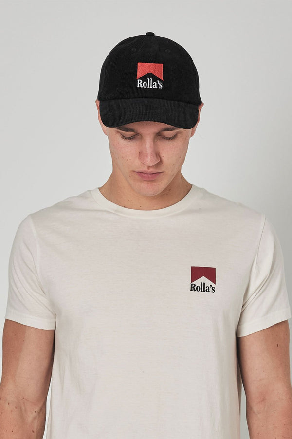 Rollas Reds Cord Cap - Front
