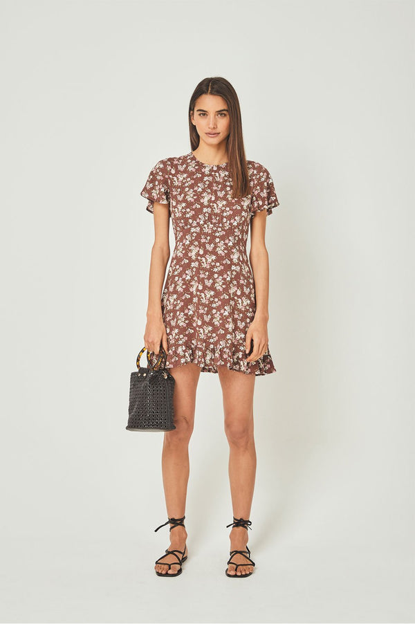 Auguste Ladies Matilda Pia Mini Dress - Front