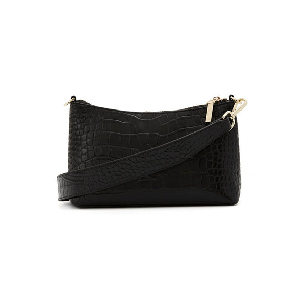Naked Vice The Christy Leather - Black Croc