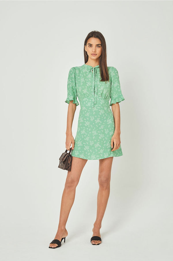 Auguste Ladies Maeve Davis Mini Dress - Front