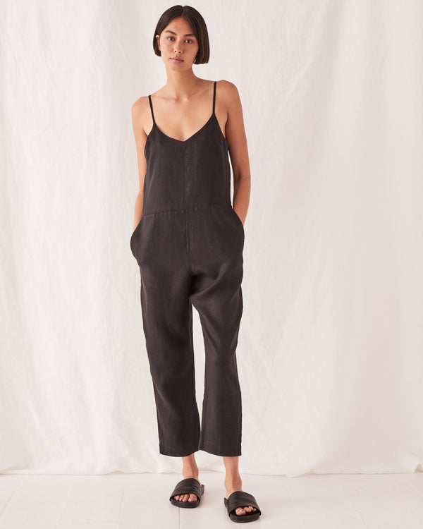 Assembly Ladies Linen Slip Jumpsuit