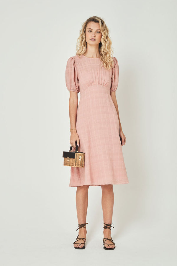 Auguste Ladies Pia Midi Dress - Front