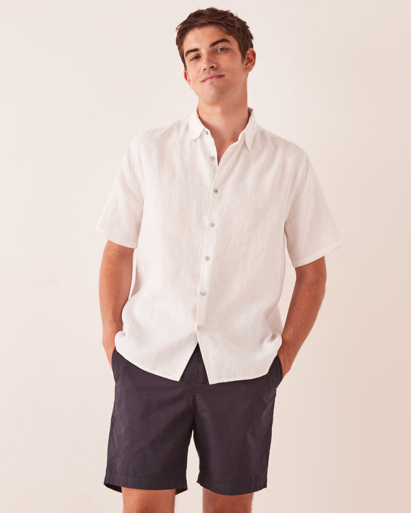 Assembly Label Mens Casual SS Shirt