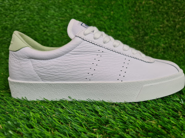 Superga Ladies Clubs Comfleau - White/Green