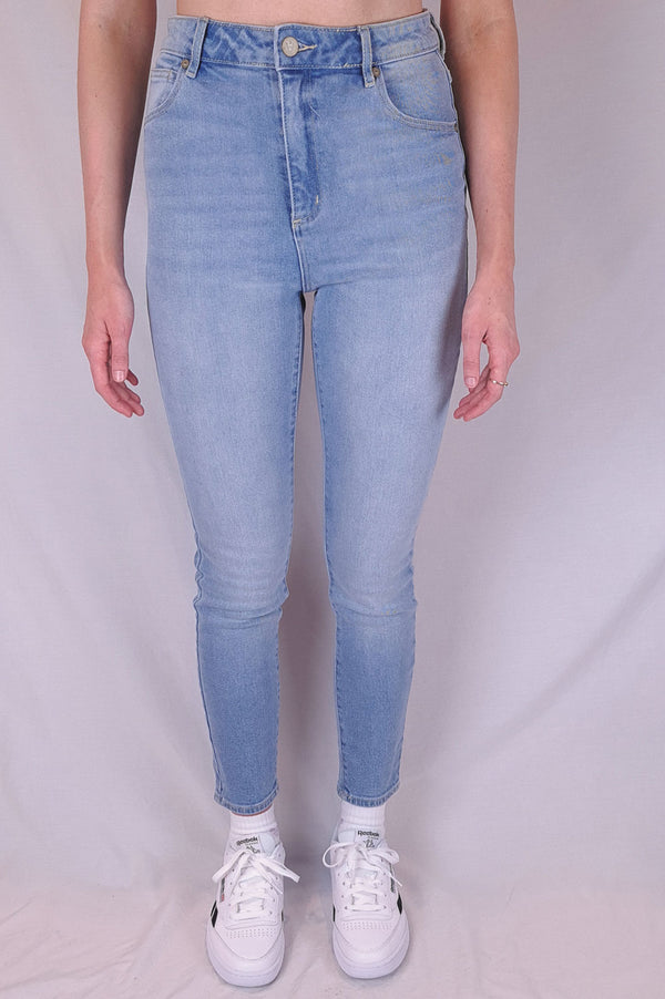Abrand Ladies High Skinny Ankle Basher Jeans