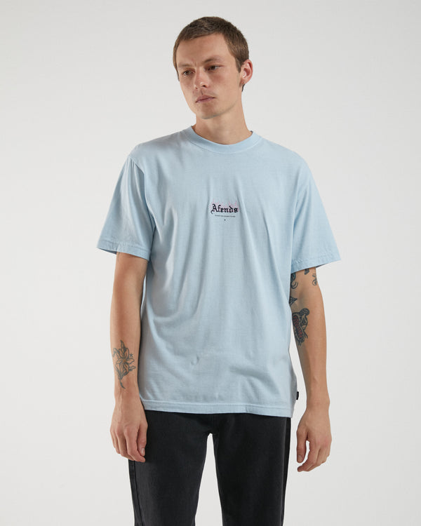 Afends Mens Burning Retro SS Tee