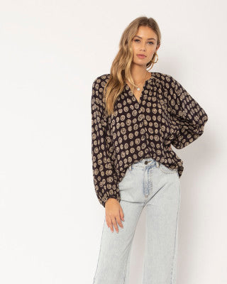 Amuse Society Charmer Blouse