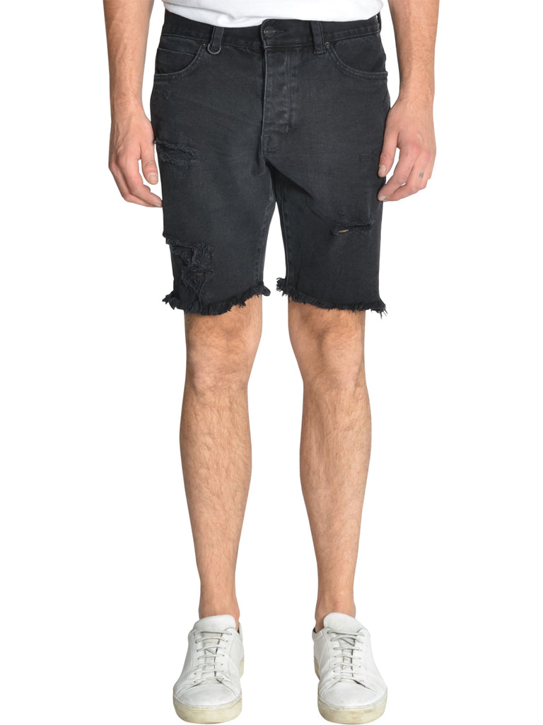 Neuw Mens Ray Tapered Shorts- Yakuza Black