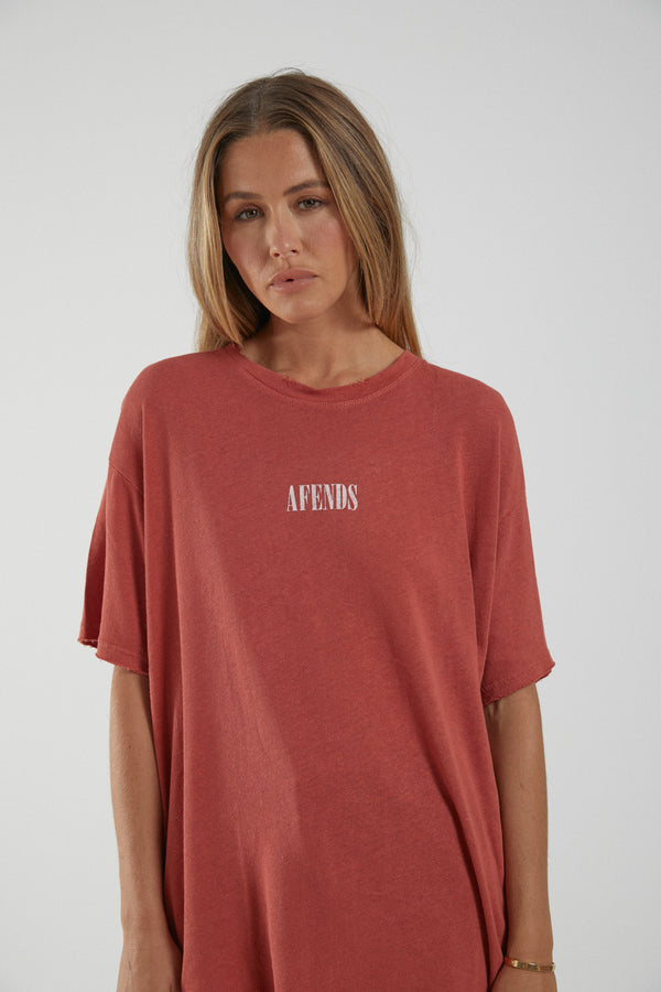 Afends Ladies Courtney Love SS Tee