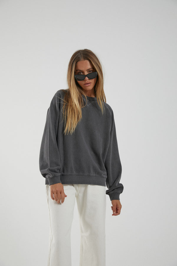 Afends Ladies Slouchy Crew