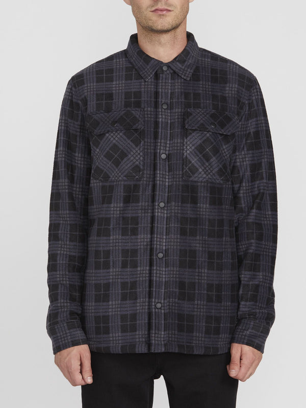 Volcom Mens Bower Polar LS Shirt