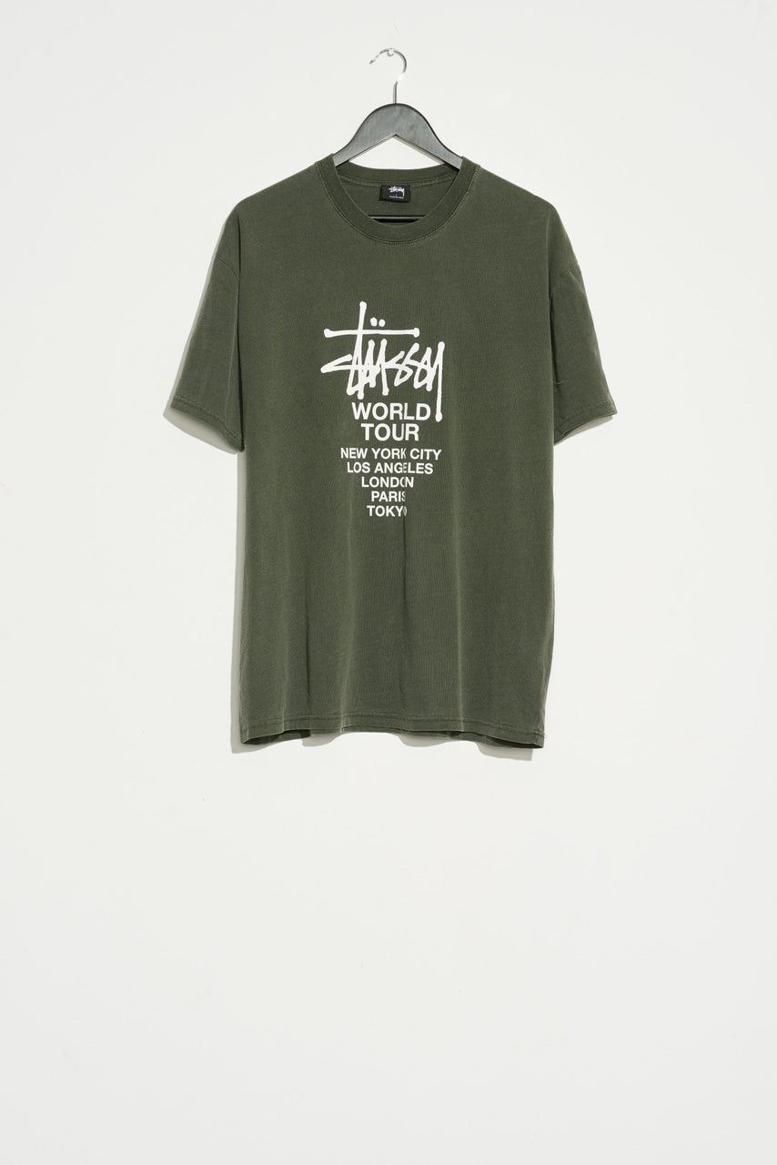 Stussy Mens Pigment Tour SS Tee