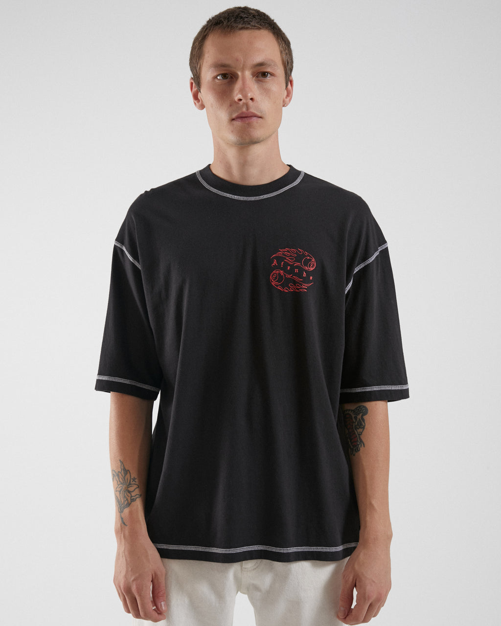 Afends Unisex Off Balance SS Tee