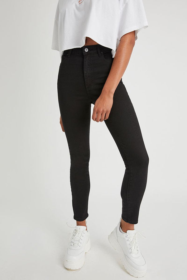 A Brand Ladies High Skinny Ankle Basher Jeans
